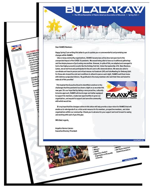 FAAWIS Bulalakaw Spring 2021
